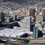 White Colorbond® steel roofing from BlueScope Steel makes the roof of the CTICC (front left) a cool roof.