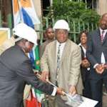 Executive mayor Amos Masondo launches the ICPS in Hillbrow