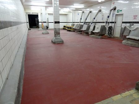 Hygienic Flooring Systems Meet Food Factory Requirements