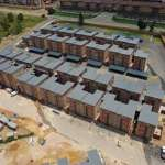 Precast hollow-core concrete floor slabs supplied by Elematic South Africa are being used in the construction of the Urban Ridge Estate rental housing development in Midrand, Gauteng.