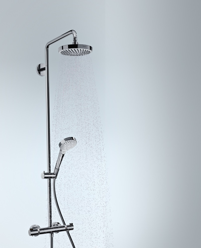 Improve your shower experience with the touch of a button
