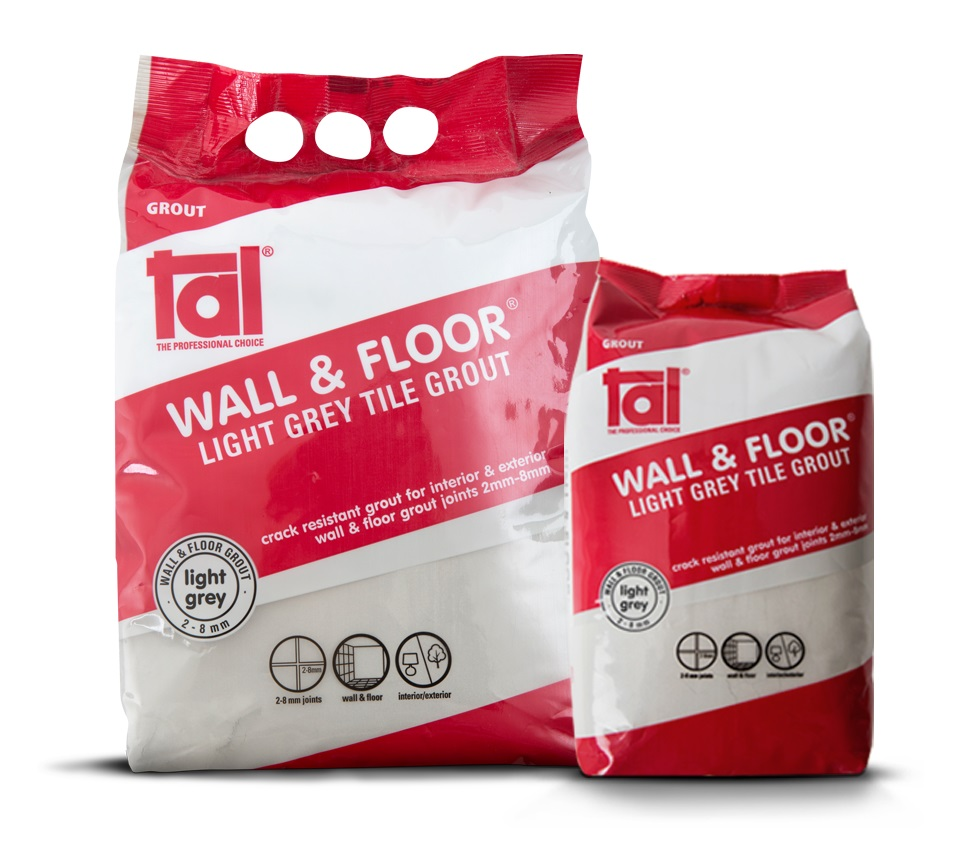 TAL grout now available in 2 kg bag