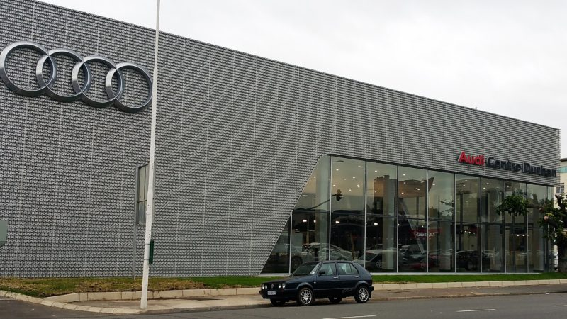Smoke ventilation system from SE Controls for Audi Durban Central dealership