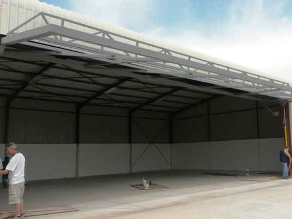 Stab-A-Load introduces the Hydro-Tilt hydraulic door