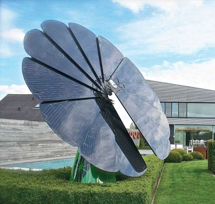 New Smart Solar Panel Follows The Sun Generates 40 More