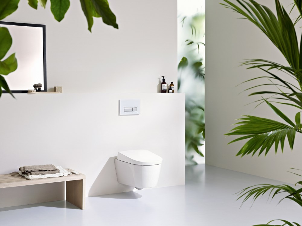 A new dimension in cleanliness - the AquaClean Sela shower toilet