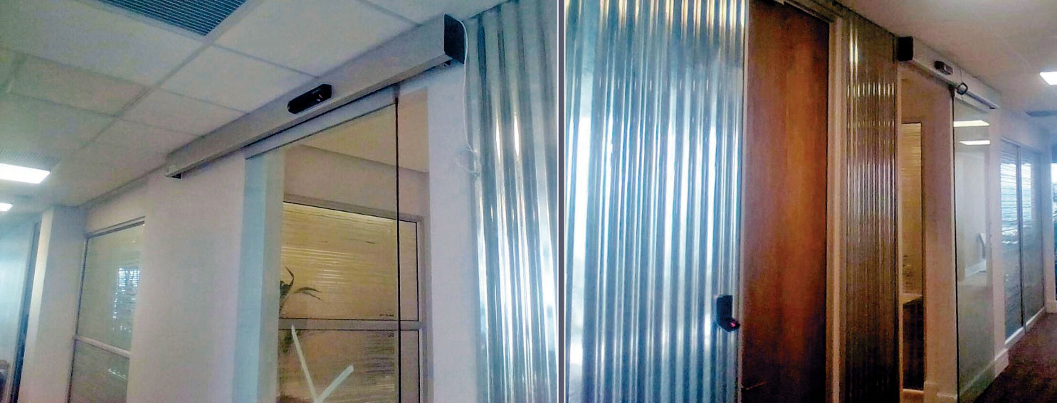 Assa Abloy Entrance Systems Supplies Besam Automatic Door Systems To