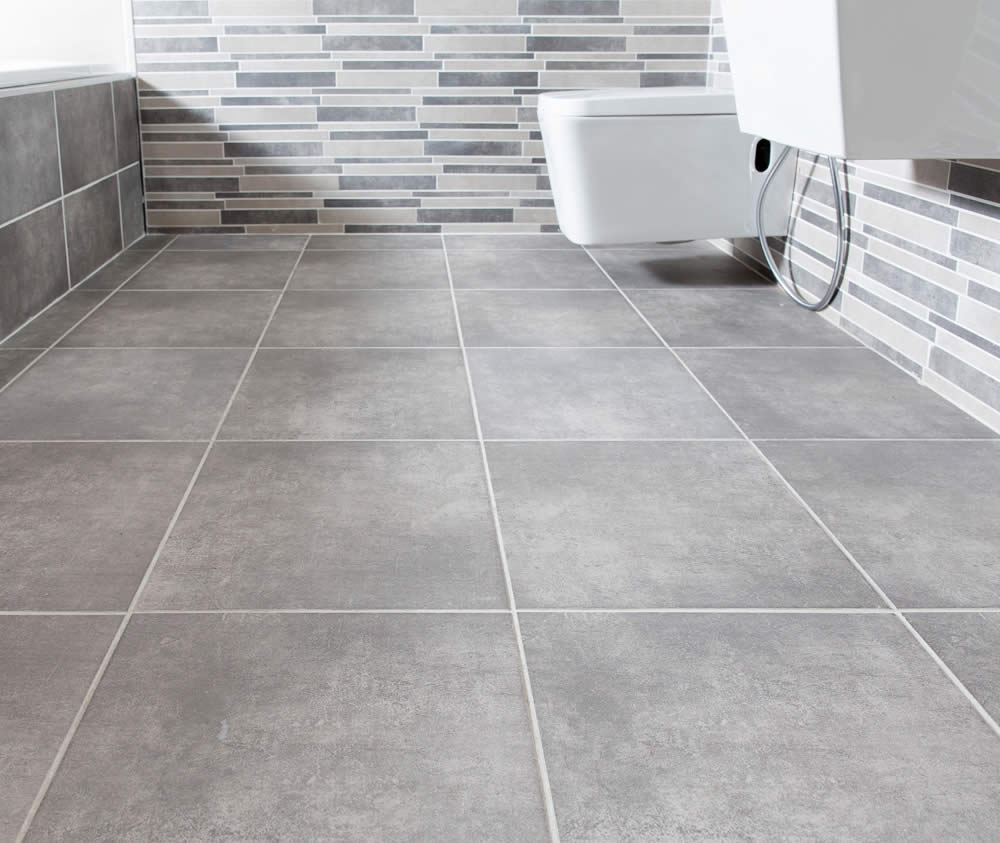 Concrete Look Tiles From Johnson Tiles For An Industrial Look Interior