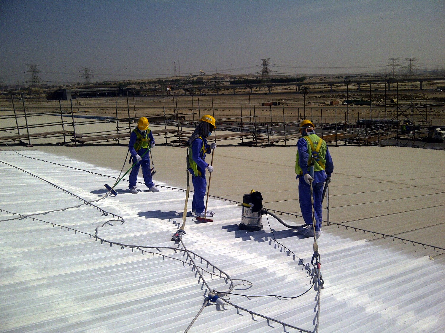 Sikalastic-560 liquid applied waterproofing for roofs