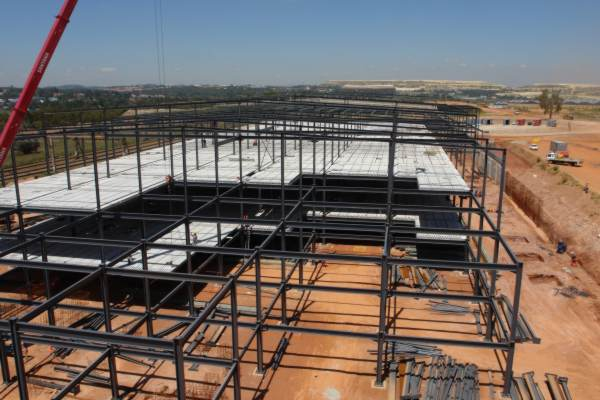 Structural Concrete Slabs : Elematic south africa supplies precast hollow core slabs