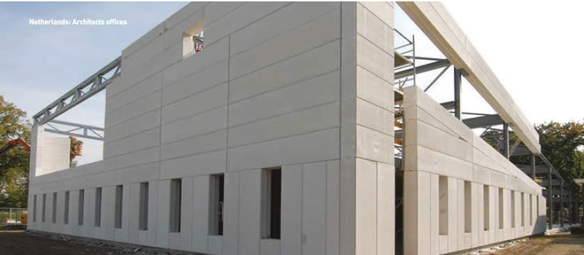 Autoclaved Aerated Concrete : Hebel is a lightweight autoclaved aerated concrete from