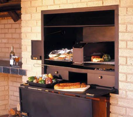 Outdoor cooking with jetmaster - Designing barbecue spot outdoor sanctuary ...