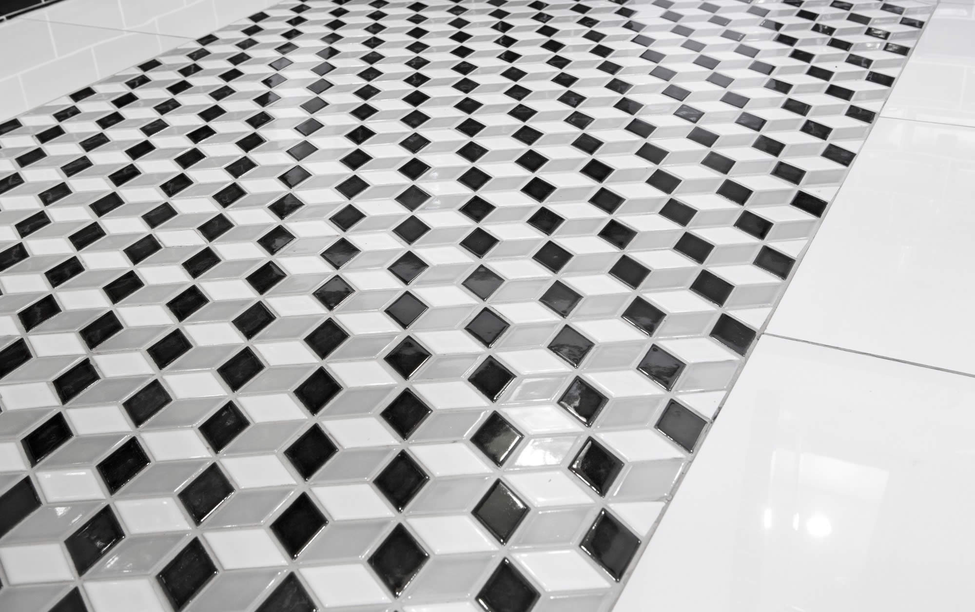 Johnson tiles forecasts bold patterns for floor and wall tiles going bold means anything and everything goes from bright colours to funky shapes the key is to have fun when designing a space with bold patterns doublecrazyfo Image collections