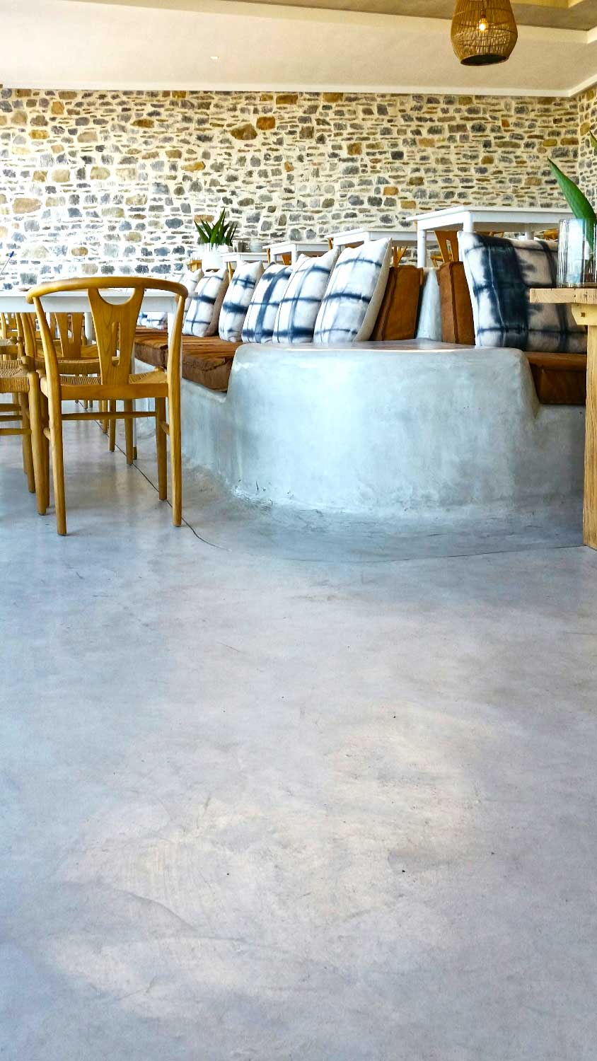 Cemcrete offers a range of colours for seamless flooring