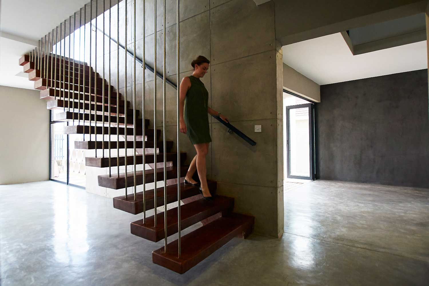Cement and concrete house