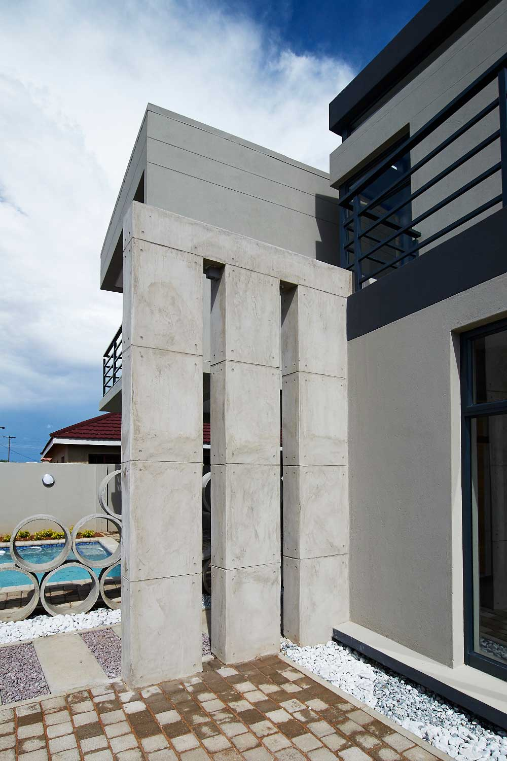 Cement finishes for Botswana Home