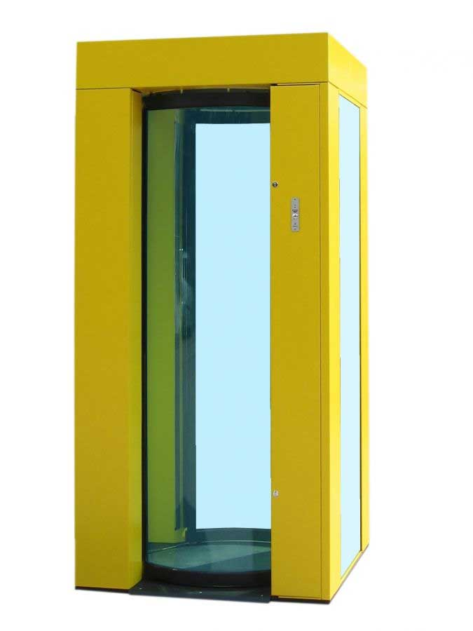 Turnstar 39 S High Security Cabin Booth 24