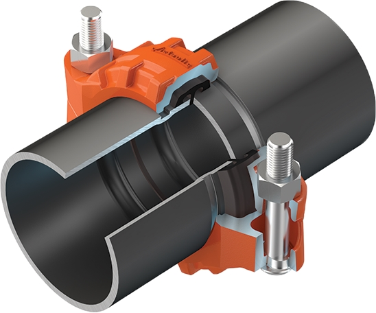 Mechanical Tubing Couplers : Victaulic offers cost benefits to commercial building