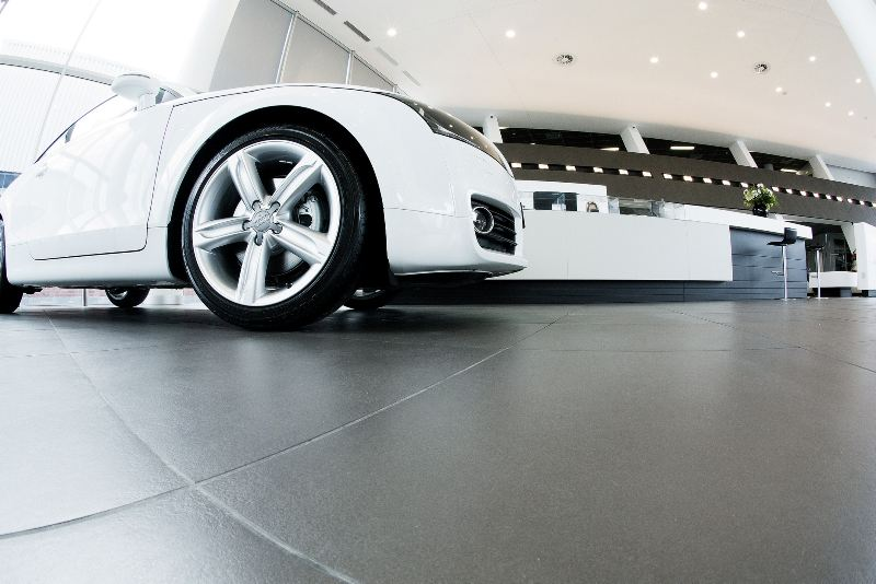 TAL supplies adhesives to new Audi Terminal concept dealership