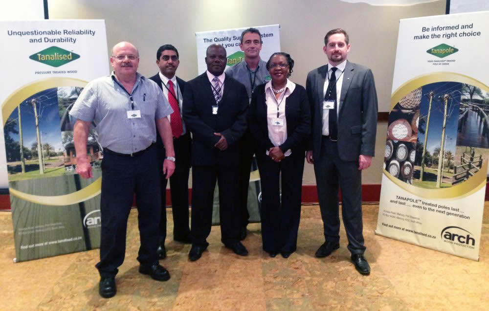Arch Wood seminar promotes wood preservation in East Africa