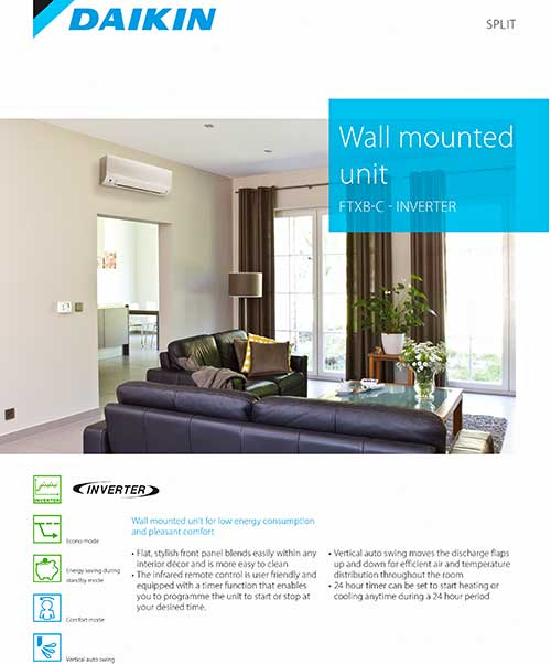 Daikin Air Conditioning South Africa Brochures