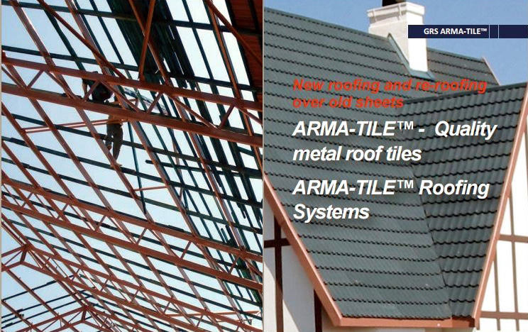 Global Roofing Solutions: Arma-Tile and Arma-Shake