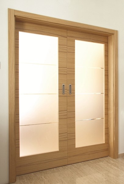 Sliding doors 'Evolve' for easy access in care homes