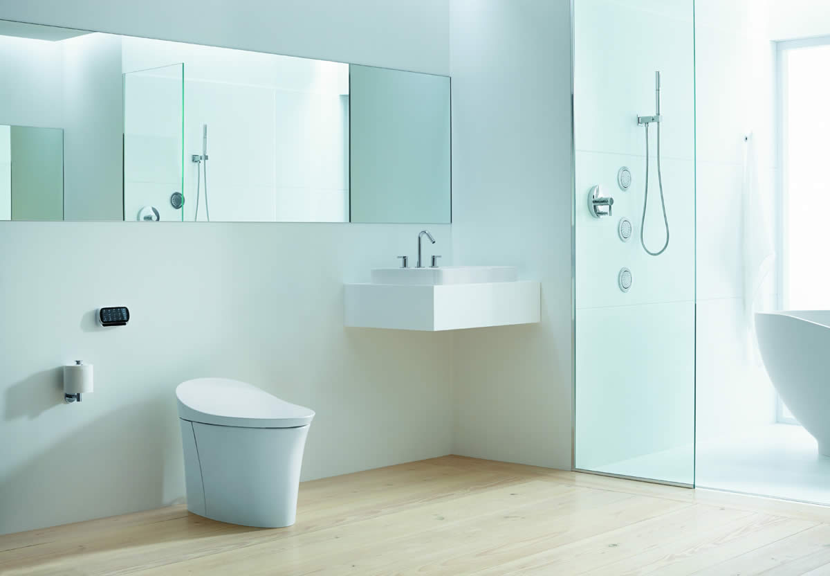 Kohler Veil Integrated Toilet Incorporates Functional