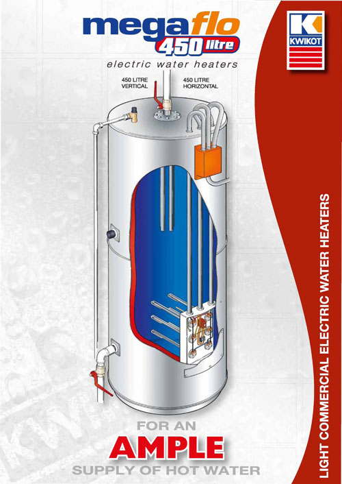 Kwikot Megaflo 450 Electric Water Heater Specifile