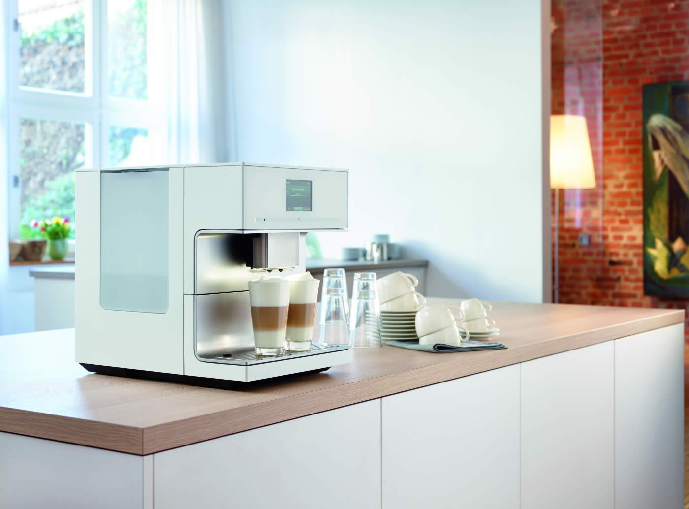 A barista in your own home