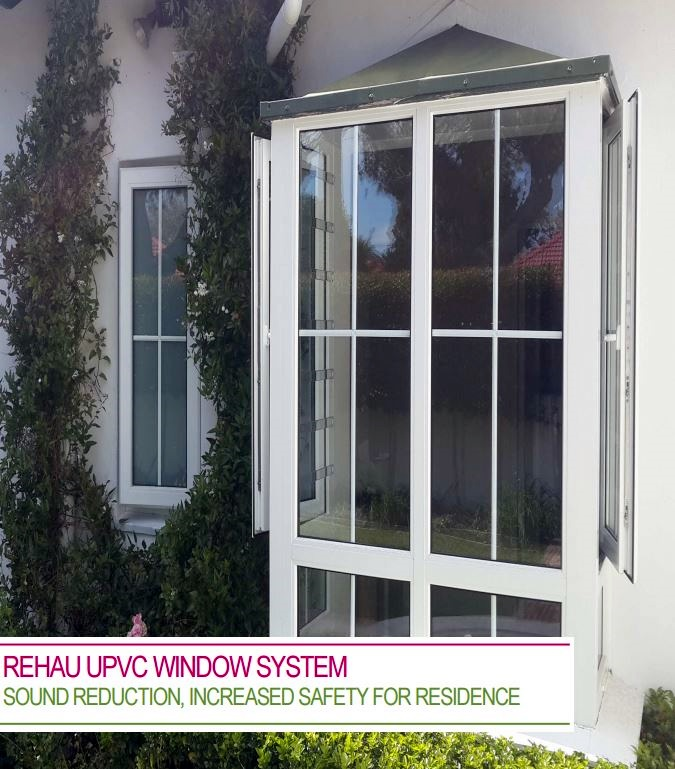 REHAU uPVC window system delights owners