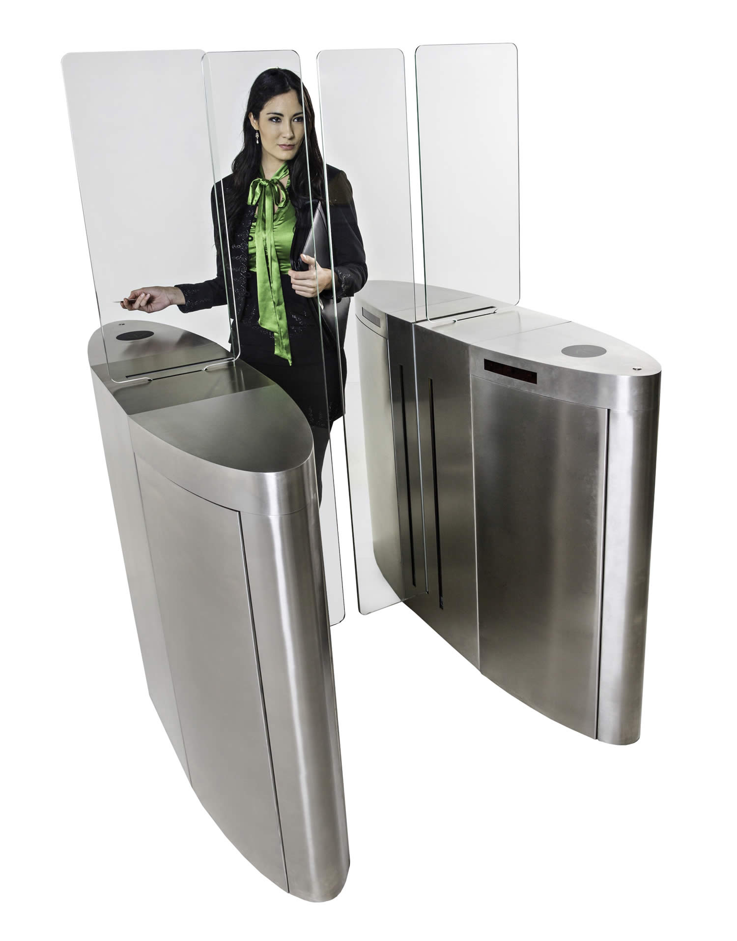 Turnstar Systems offers security and access in stylish turnstile