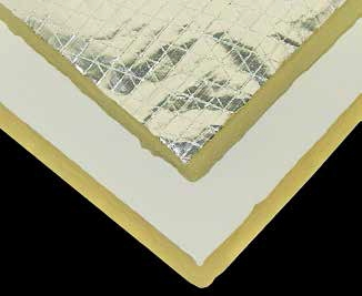 D&D Roof Insulations for Starlite® roof and side-cladding insulation