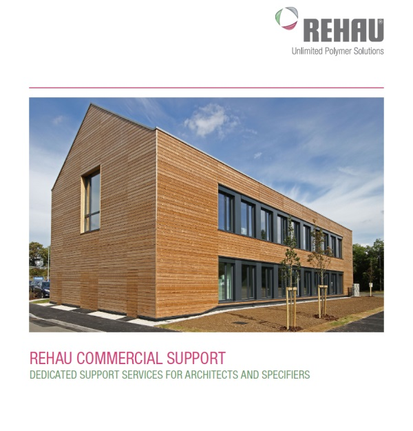 REHAU's UPVC window department offers specification support services