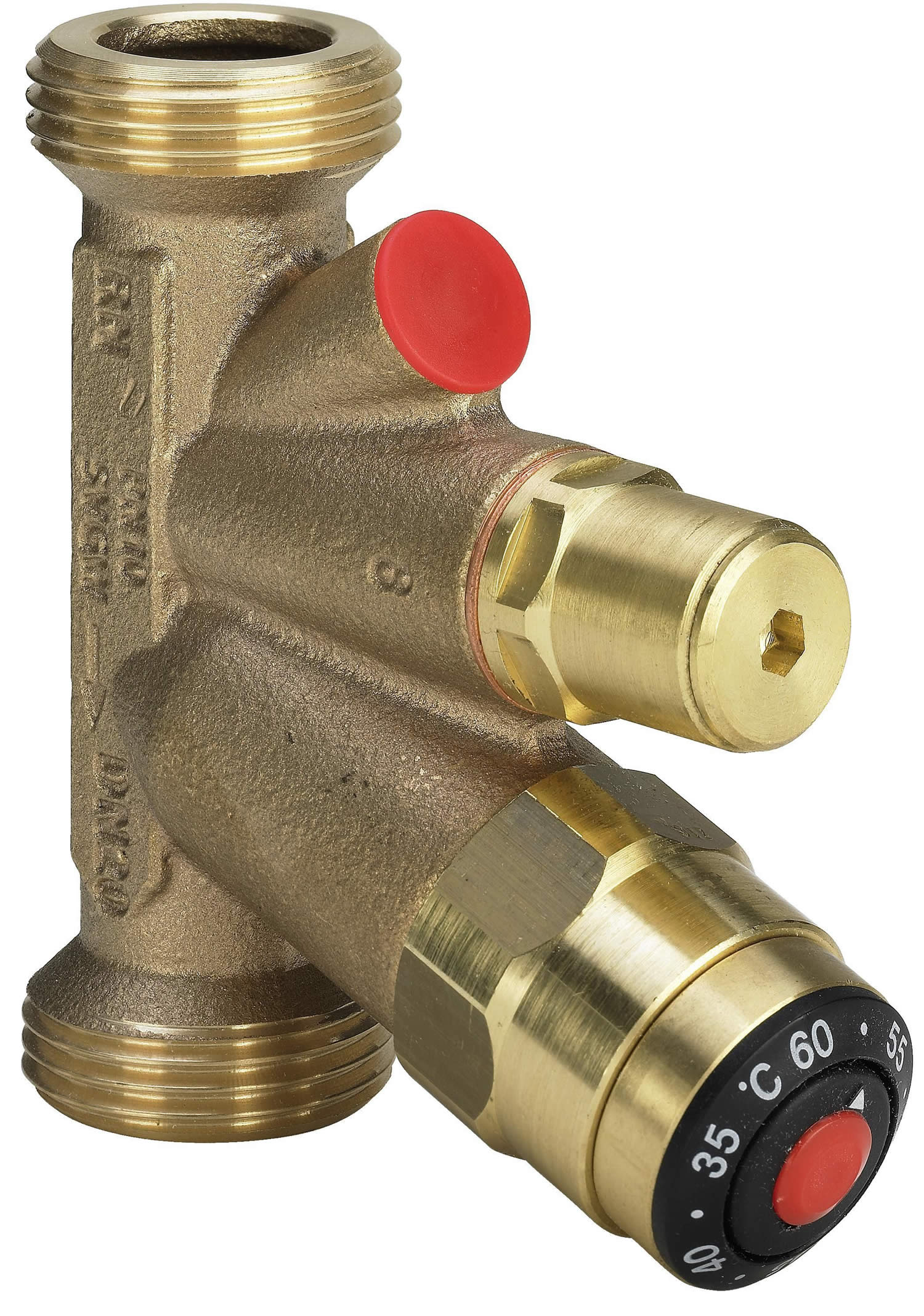 Easytop Valve For Hydraulic Balancing Of Hot Water