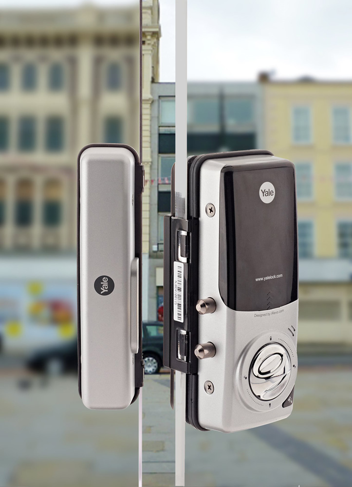 ASSA Abloys digital door lock for glass doors