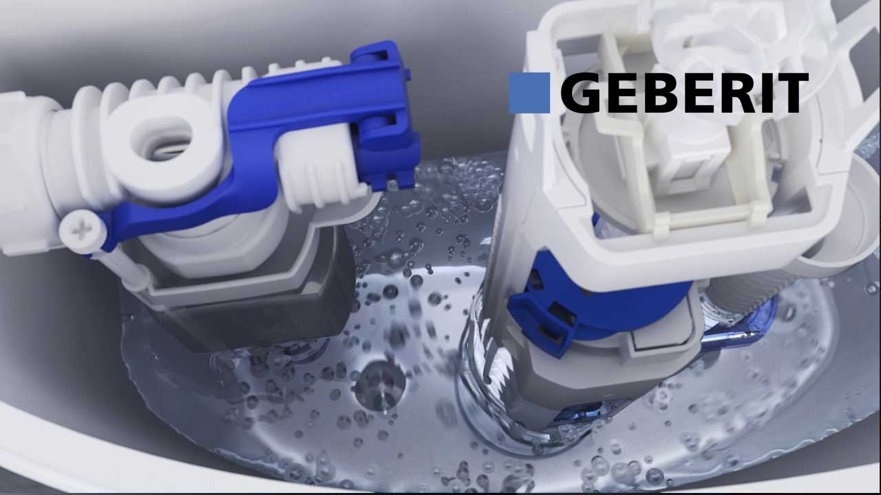 Geberit Type 240 Flushing Valve - Installation