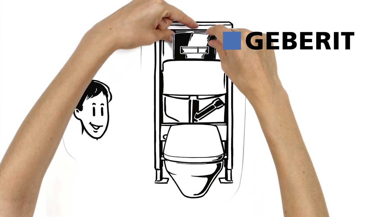 Geberit flushing systems functionality specifile for Geberit system