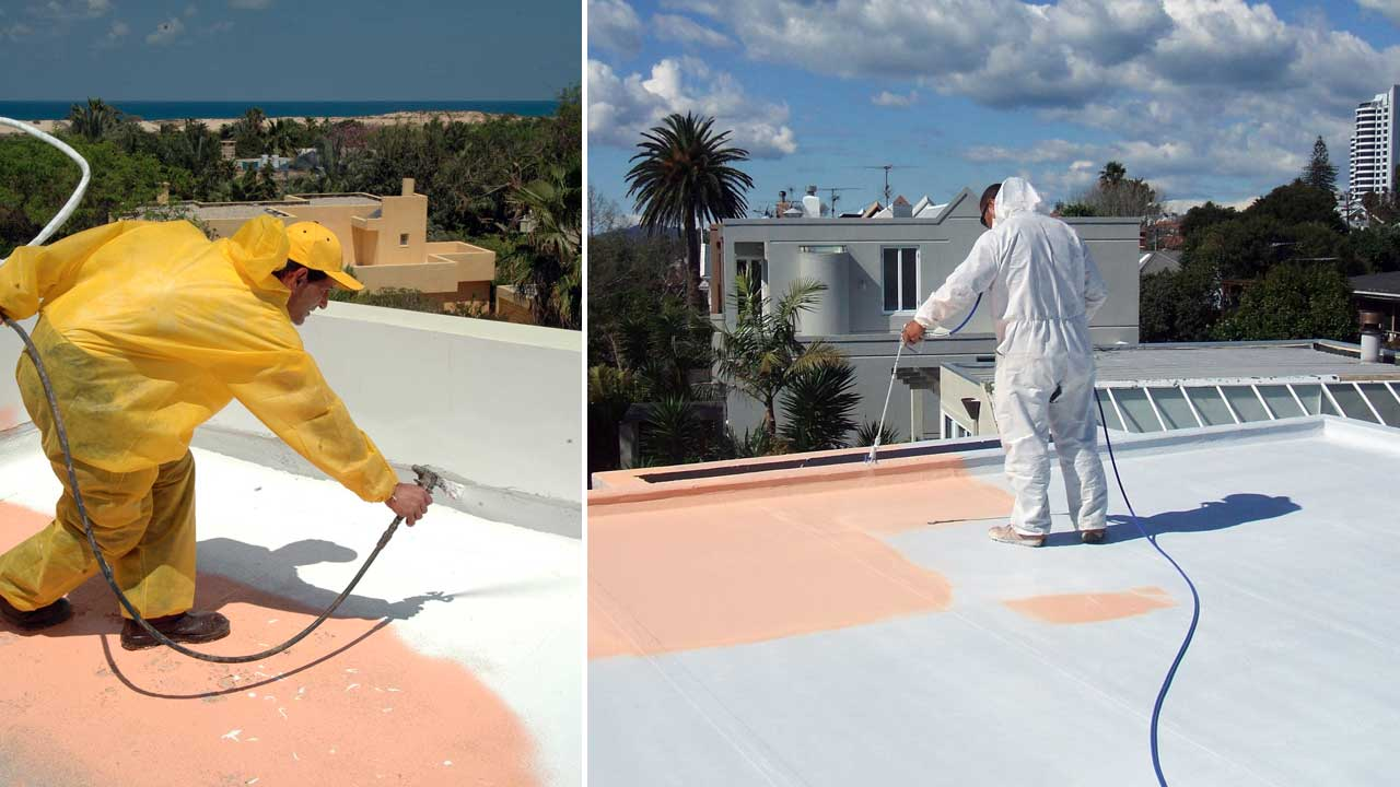 Master Roof Waterproofing Application