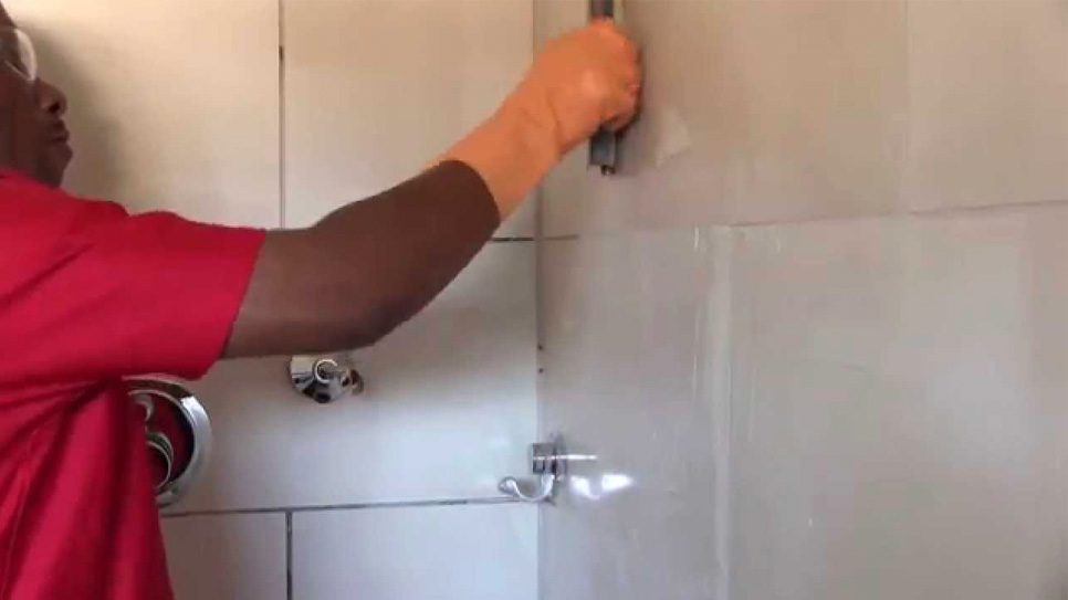 Reviving Shower Grout with TAL: How to remove and replace grout in a shower