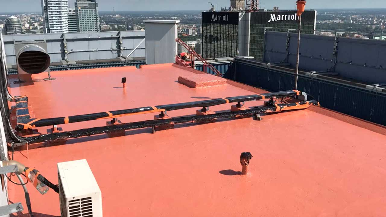 Roof & terrace waterproofing with HYPERDESMO®