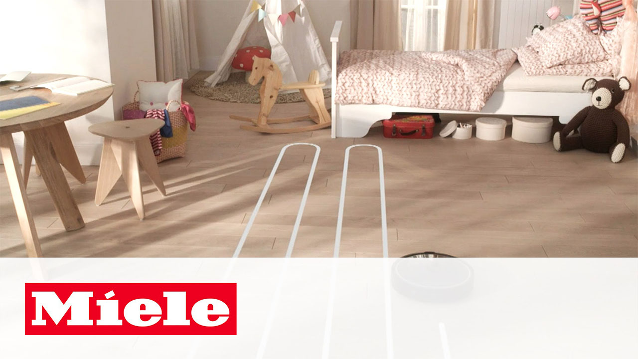 Scout RX1 TV Spot: The New Robot Vacuum Cleaner | Miele