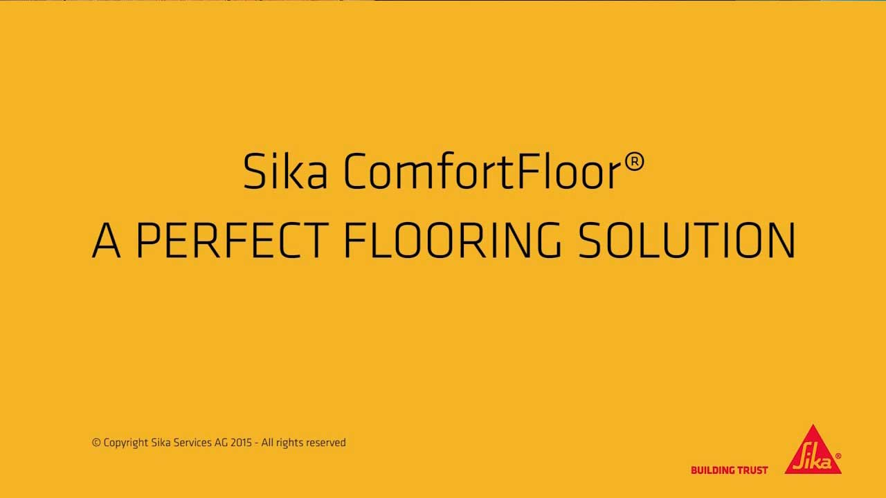 Sika ComfortFloor®, a professional flooring solution for a perfect look