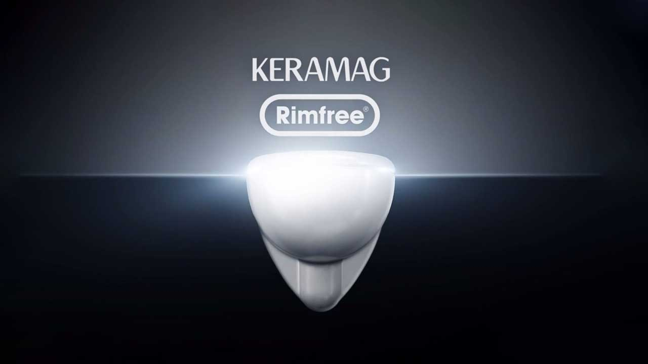 Keramag Rimfree WC - Functionality