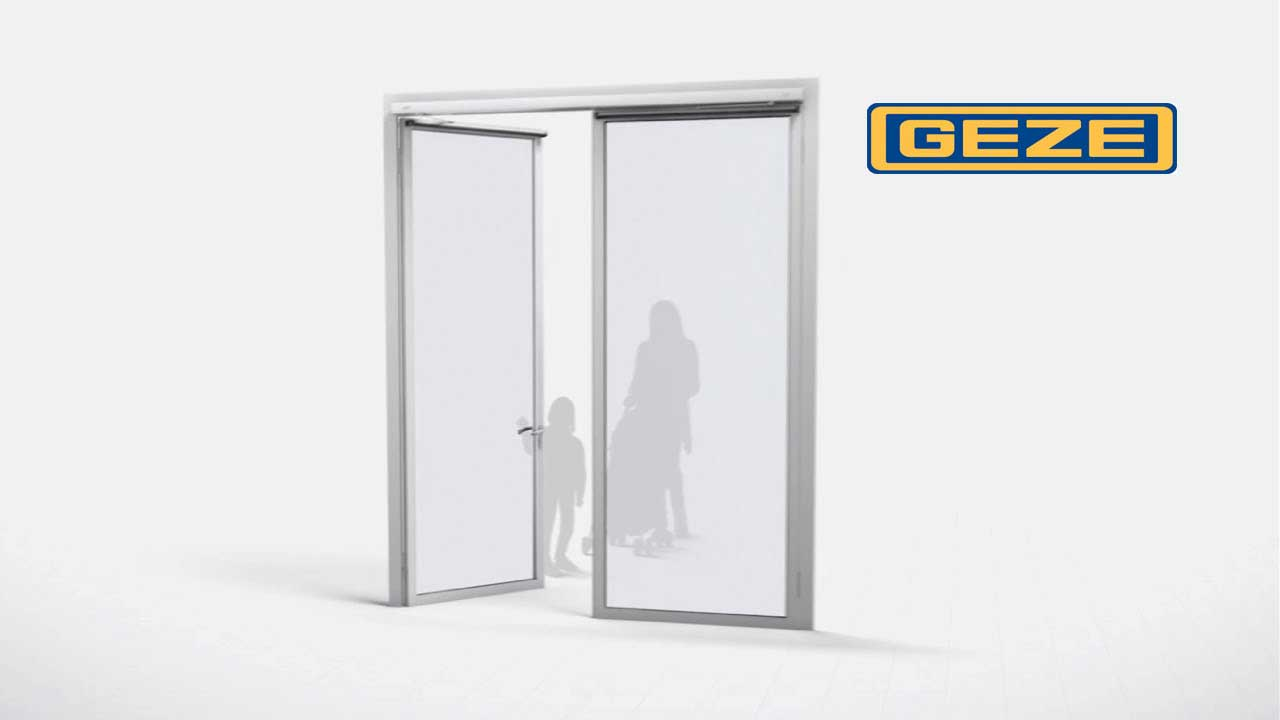 Accessibility - with the new GEZE Powerturn