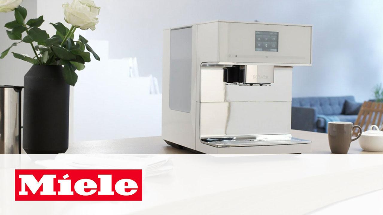 Miele CM7: Bean-to-Cup Coffee Machine that Prepares Tea
