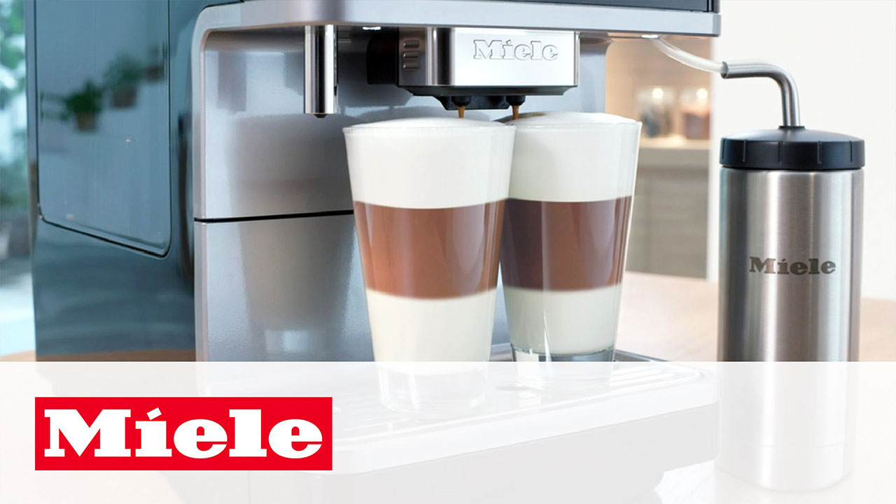 Miele CM6: Bean-to-cup Coffee Machine with OneTouch for Two