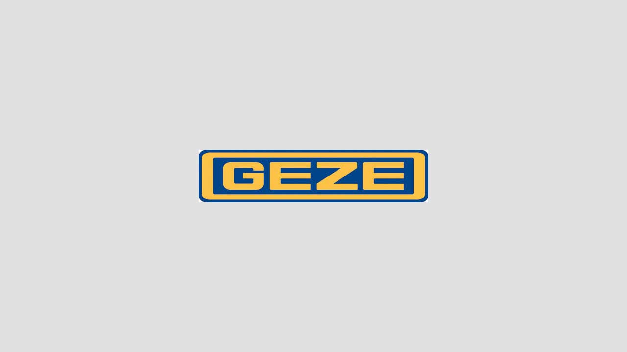 GEZE Smoke and heat extraction systems (RWA) functional demonstration