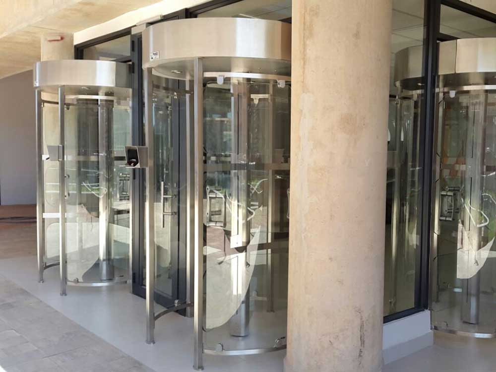 Boomgate systems product page cyclone glass turnstiles