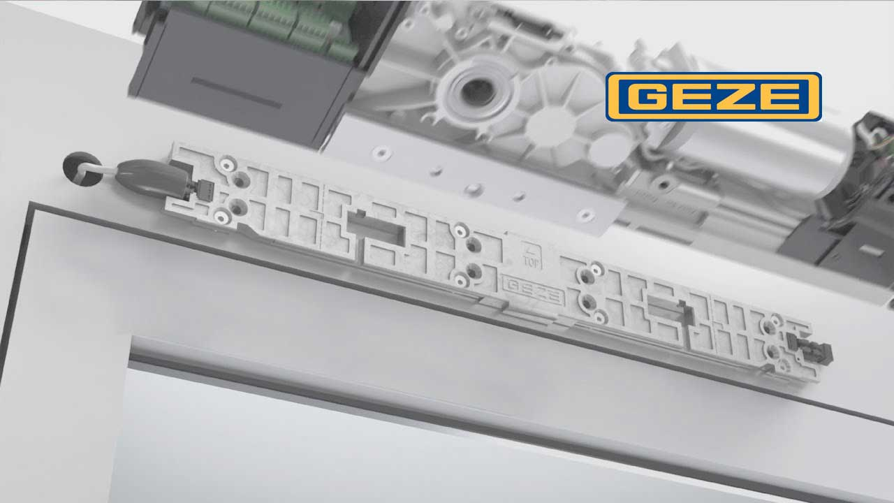 Installation freedom - with the new GEZE Powerturn